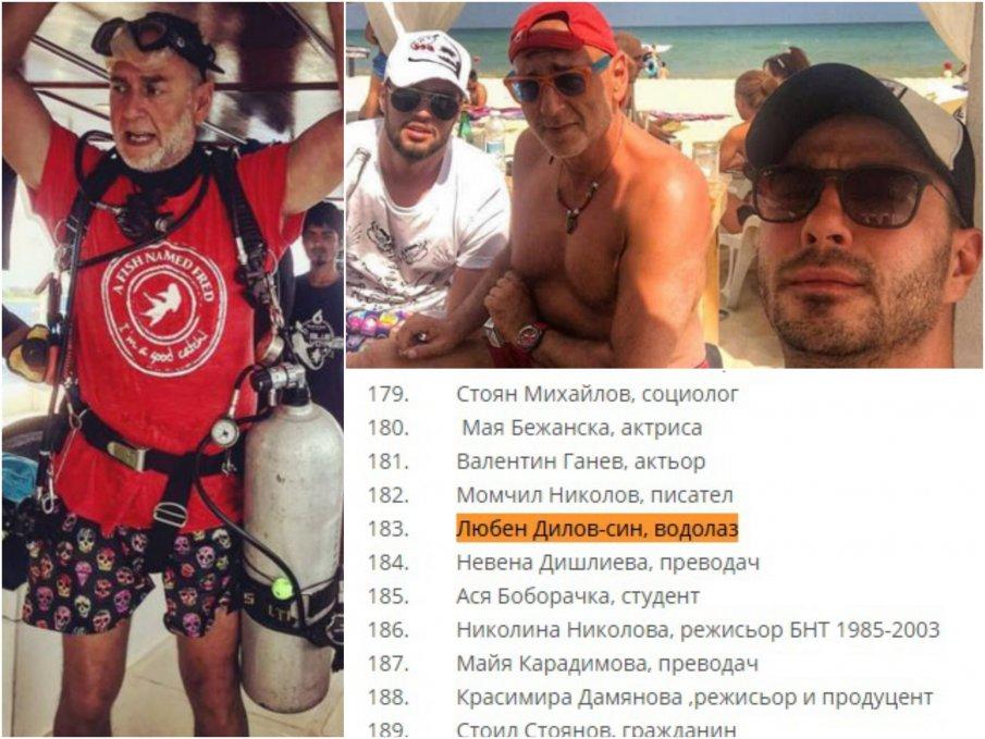Недялко Недялков: Г-н Борисов, позорно е, че водачът на листата ви в Бургас Любен Дилов участва в подписка срещу Кошлуков. Любен Дилов, водолаз...Засрамете се!