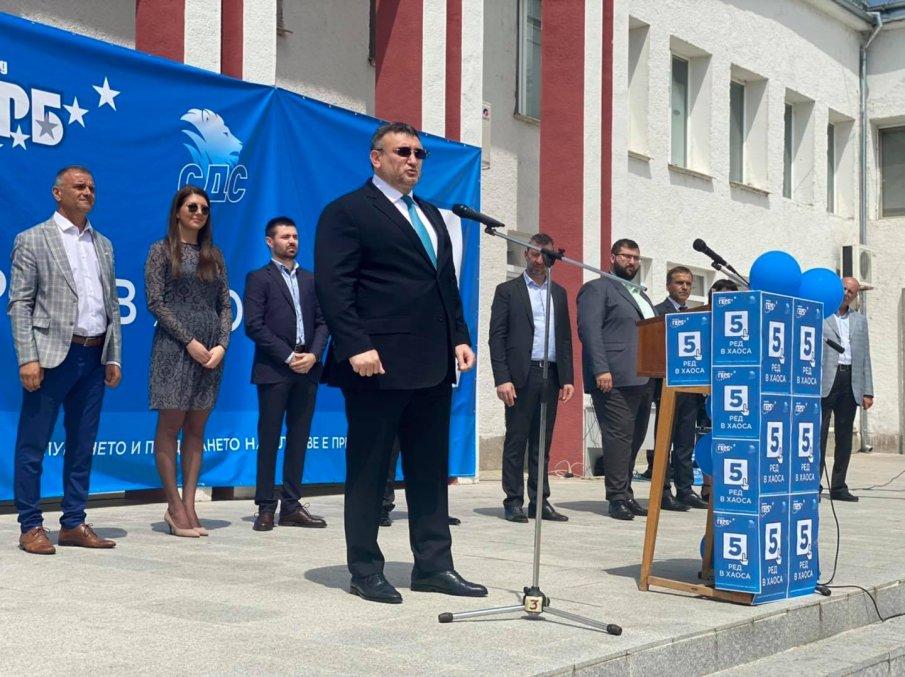 Младен Маринов на откриването на кампанията: Хората не искат шоу, а ред в държавата и принципно управление (СНИМКИ)