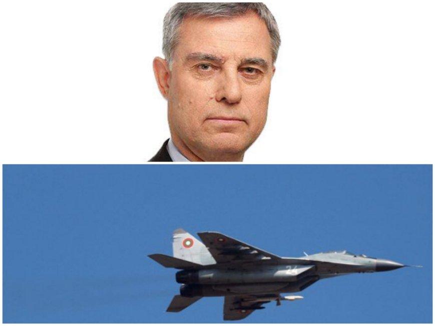 Ген. Съби Събев с важни подробности за инцидента с МиГ-29: Тези изтребители са несъвместими със самолетите на НАТО