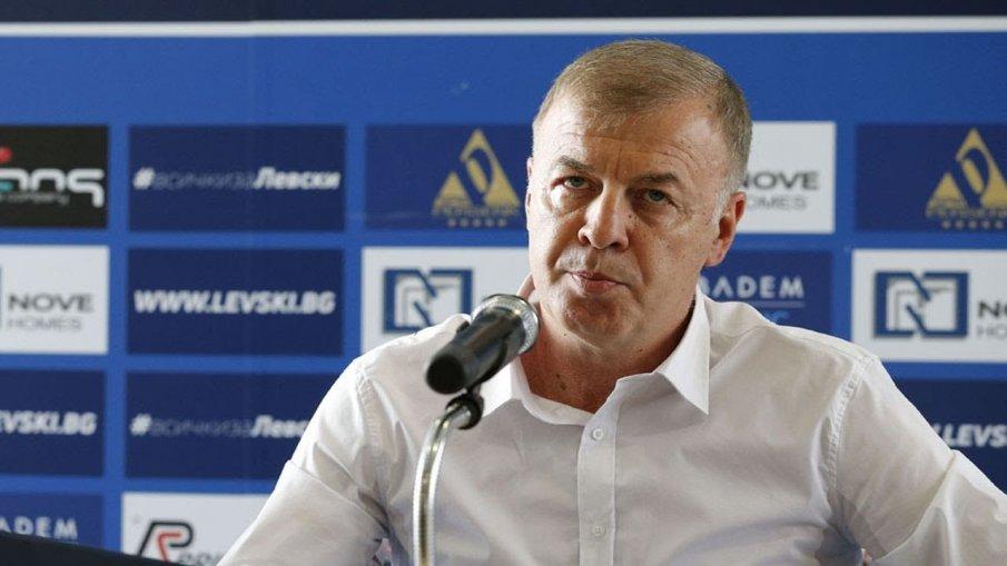 ПАЗАРЛЪК: Наско Сираков иска 30 бона заплата в Левски