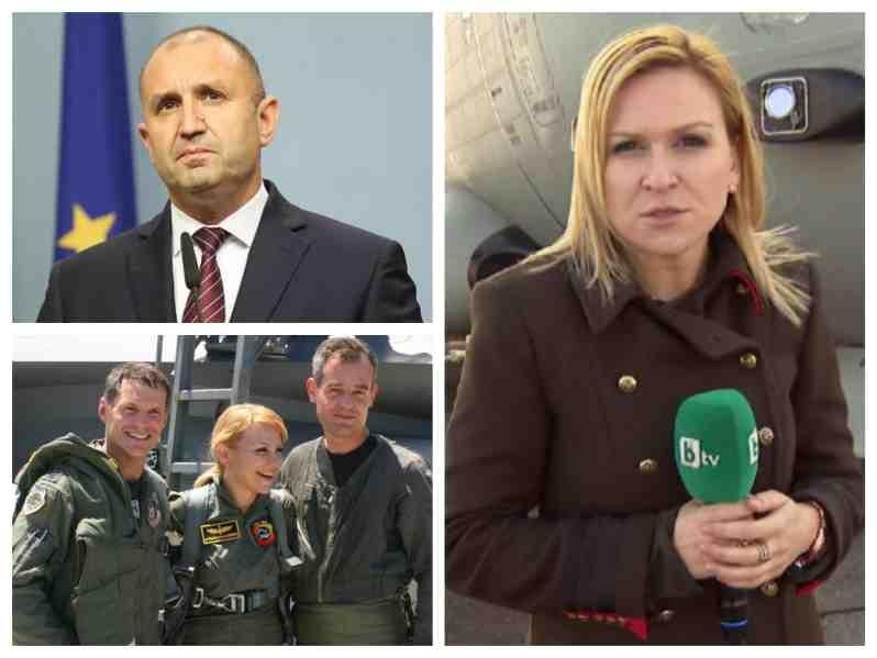 Наплатанова от БТВ е в конфликт на интереси. Мъжът й е пряко отговорен за трагедията с пилота край Шабла