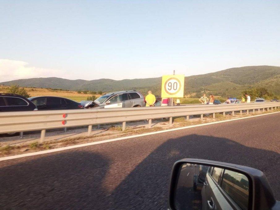Пускат движението към София по ремонтираната автомагистрала Тракия