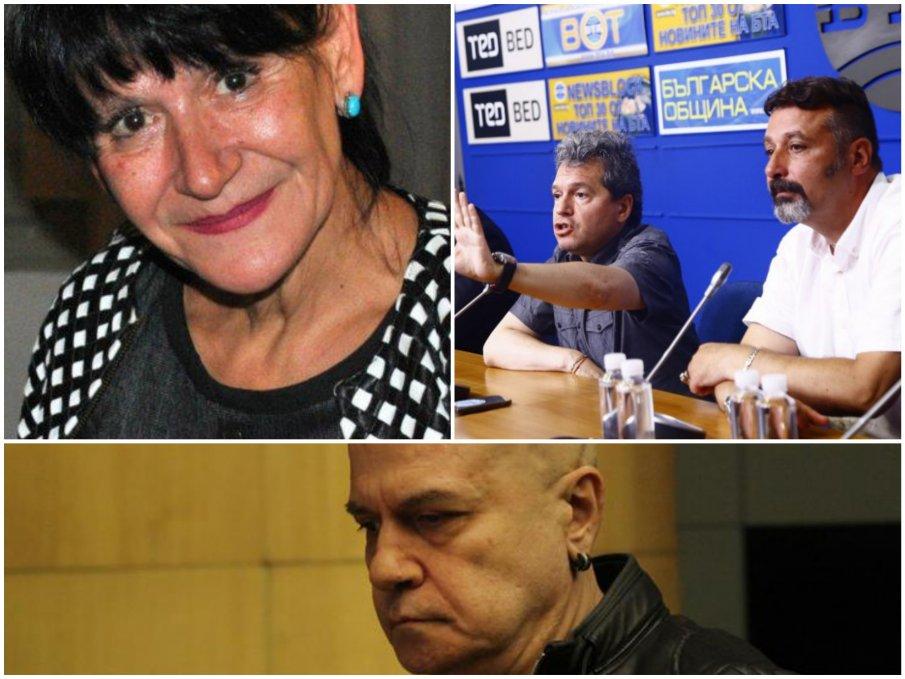 Всички зад Ива Николова, дори и Христо Иванов. Само ГЕРБ мълчат
