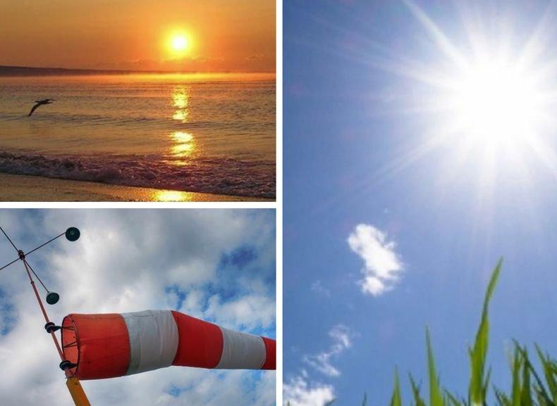 СЛЪНЧЕВО И ТОПЛО! Повече облаци в следобедните часове. Жълт код за силен вятър е в сила за три области в страната (КАРТИ)