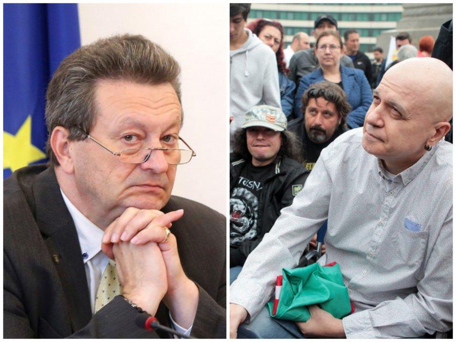 Таско Ерменков пред ПИК: Нелепо е да се държиш като представител на народа с едва 9%. Слави вече не е седящият на столчето пред НС, а представя популизъм и неолиберализъм
