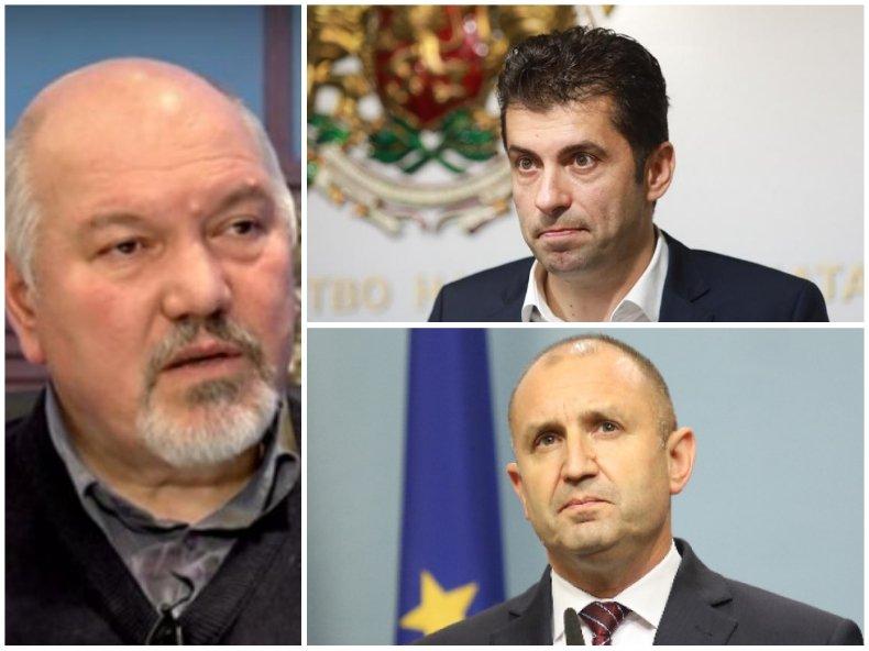 Стратегическият съветник на Радев от ДС Александър Маринов лъсна имиджа на служебния кабинет и призна - ще има нови лица в следващото правителство
