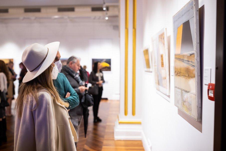 Огромен интерес към изложбата на Кристо и Жан-Клод в София