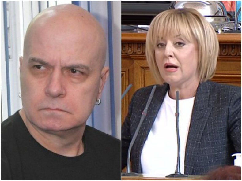 Алфа рисърч драматично: Партиите на Слави и Мая губят половината от привържениците си