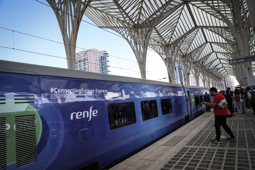 Влакът Свързана Европа преминава през България довечера