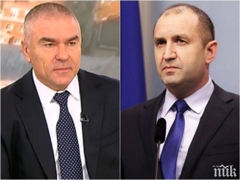Марешки: Радев ще бъде замъглен като Виденов и Луканов! Името му ще е нарицателно за страданието на народа
