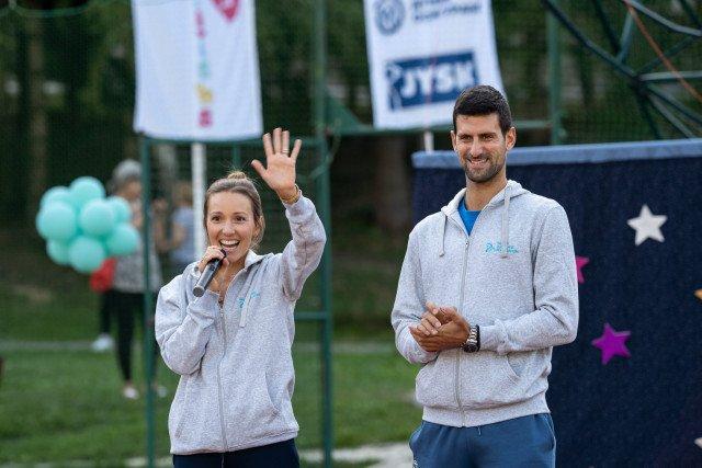 Съпругата на водачът в световната ранглиста по тенис Новак Джокович