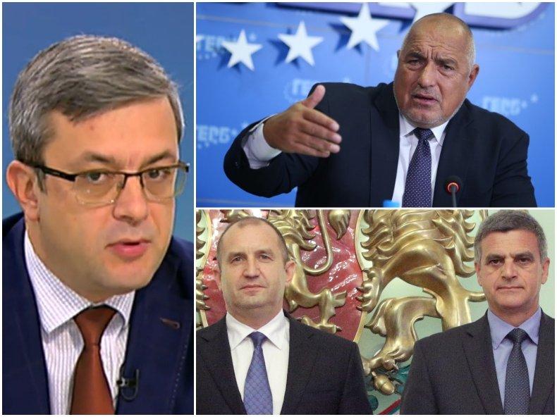 Тома Биков: Борисов е една от фигурите в българската политика, която е достатъчно устойчива и подкрепяна. Той може да е министър-председател в кризисна ситуация, а такава предстои