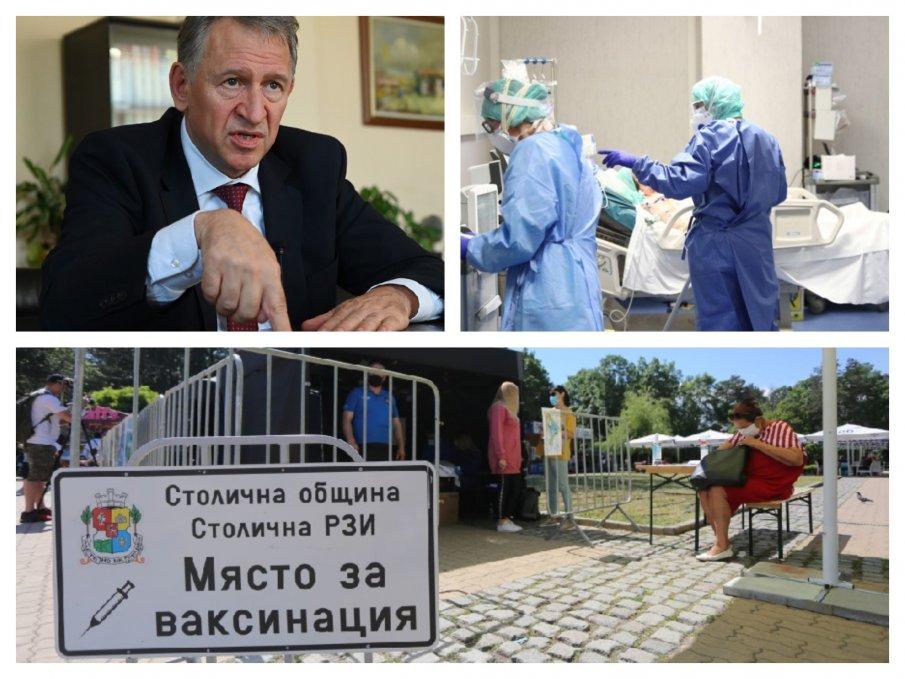 ИЗВЪНРЕДНО В ПИК TV! Кацаров призна бума на починали, но мълчи за мерки - виновен бил ниският процент ваксинирани (ОБНОВЕНА)