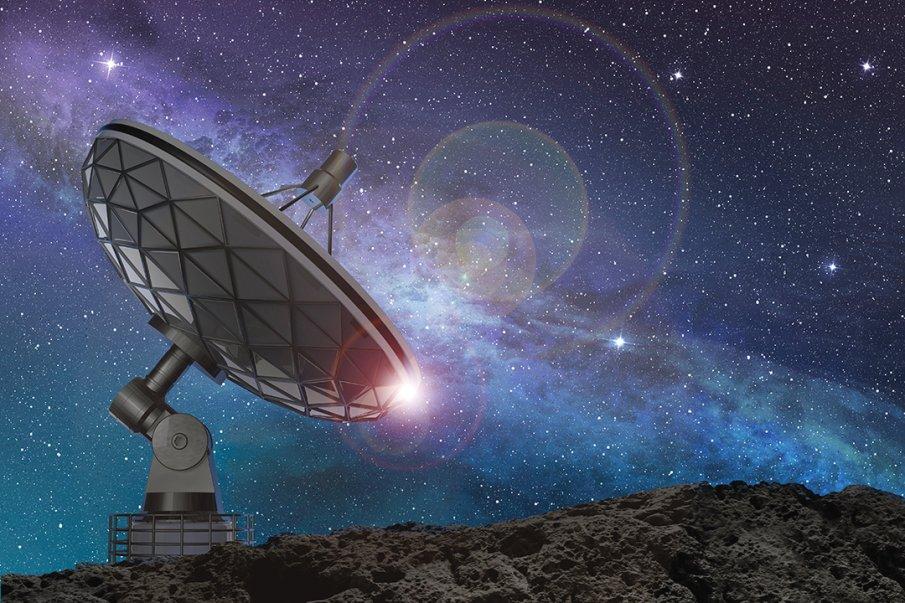 Странни радиосигнали идват от центъра на нашата галактика, Млечния път