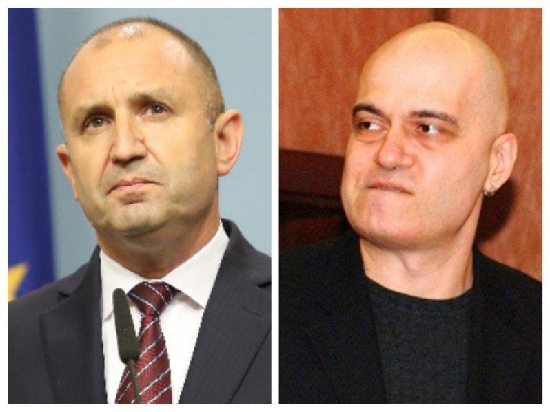 Президентът на републиката Румен Радев и лансираният от него за
