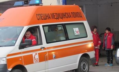 """Катастрофа е станала на автоматистрала """"Хемус"""" в района на км"""