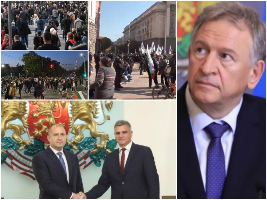 Нов центъра на заради действията на президента Румен и служебния