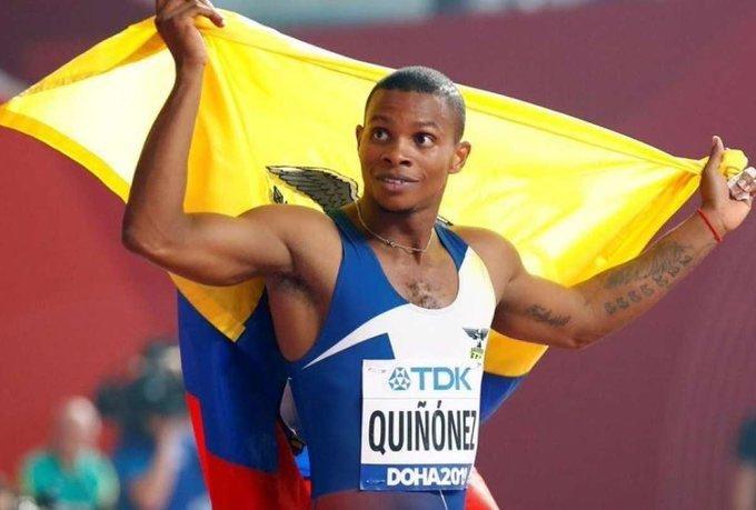 Световният бронзов медалист на 200 м от ЕквадорАлекс Кинонесбе застрелян