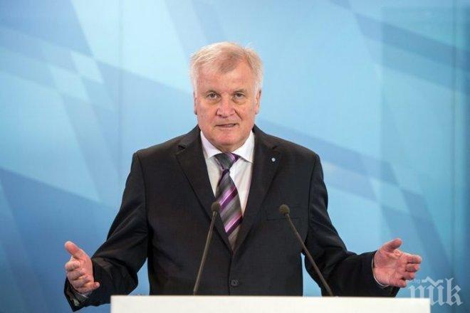 Вътрешният министър на Германия Хорст Зеехофер обяви, че е готов