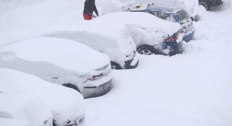 """Испания се бори с щетите от бурята """"Филомена"""" при рекордно ниски температури"""