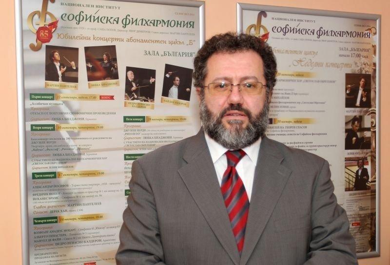 СКРЪБНА ВЕСТ: Почина дългогодишният директор на Софийската филхармония Явор Димитров