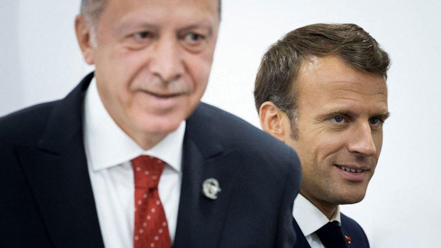 Макрон стопля отношенията с Турция, прати писмо на Ердоган