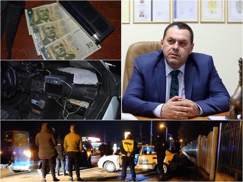 """Шефът на дирекция Вътрешна сигурност"""" Стефан Банков с разкрития за акцията с арестувани подкупни полицаи"""
