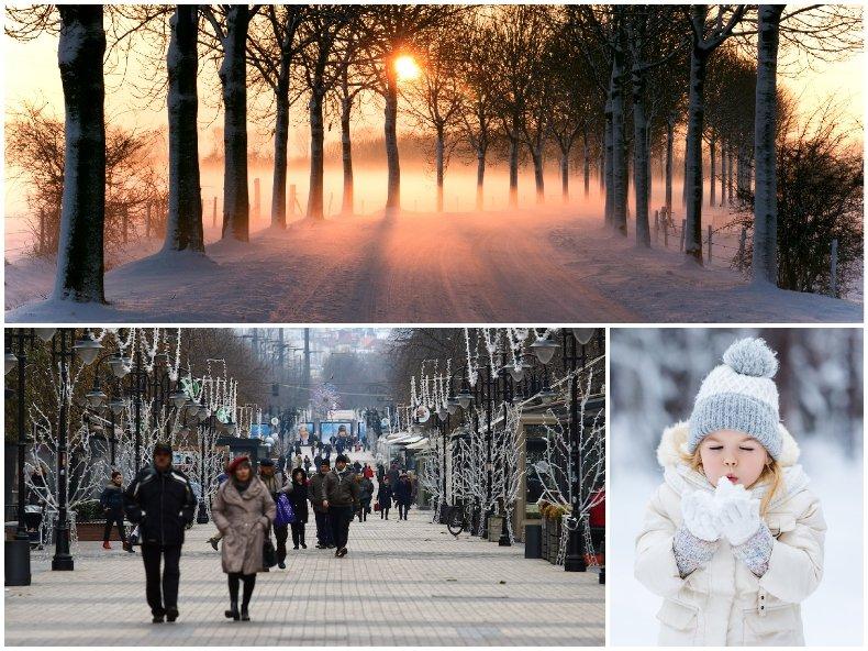ЗИМНО ВРЕМЕ: Облаци, слънце и мразовити температури. Ето къде ще е най-студено (КАРТА)