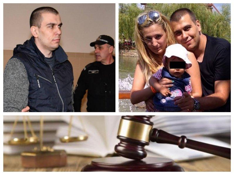 ПЪРВО В ПИК TV! Съдът каза думата си за двойния убиец Викторио Александров - 20 години затвор за смъртта на жена му и детето (ОБНОВЕНА/ВИДЕО)