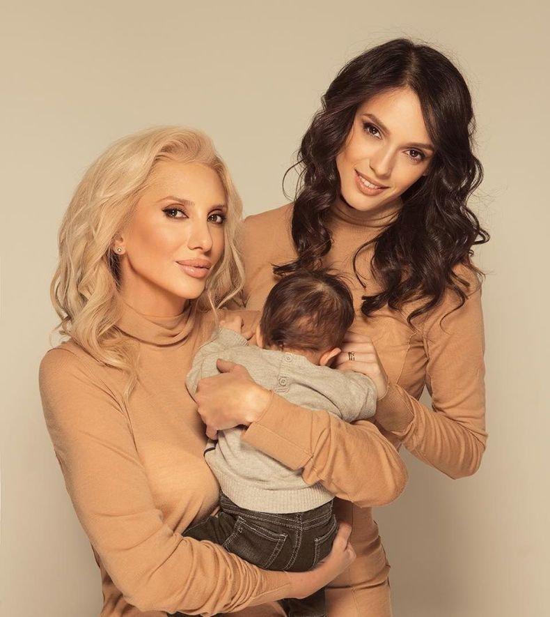 Луиза Григорова направи официална премиера на сина си Бран (СНИМКА)