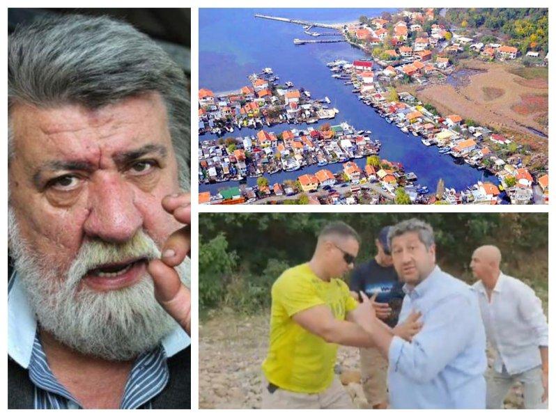 Вежди Рашидов пред ПИК: Христо Иванов е човек с политически и пиар разстройства. Ако е мъж, да събори сараите на Доган