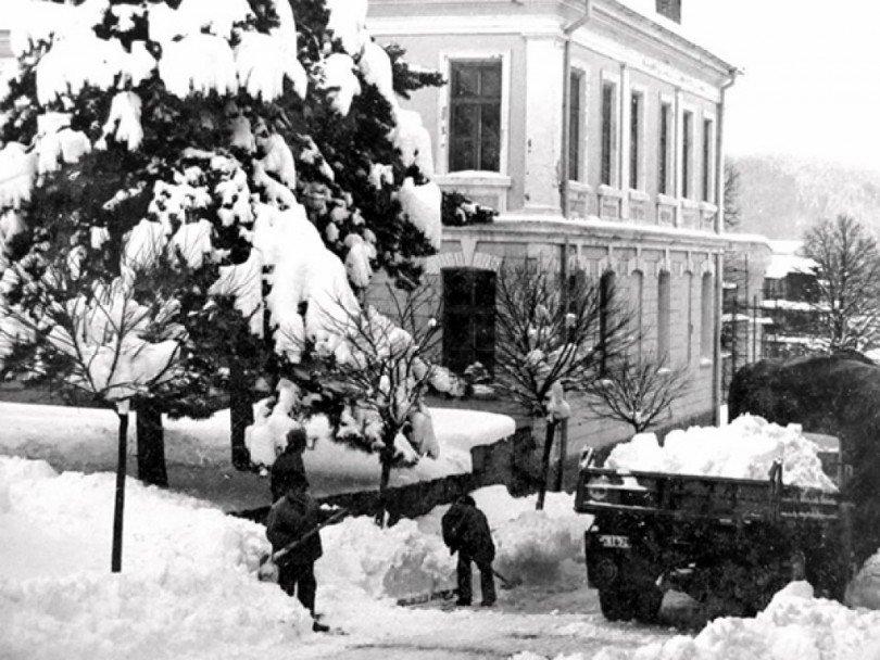 При соца снегът не спираше, но държавата не блокираше
