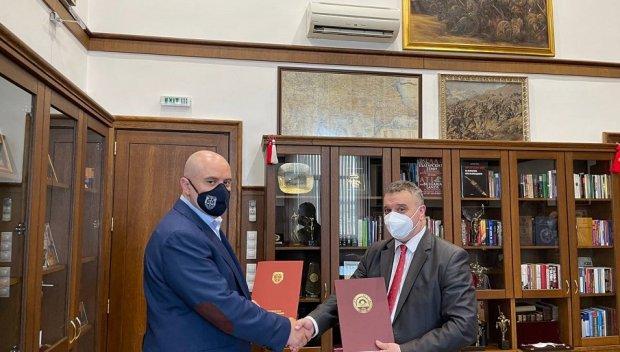 Главният прокурор Иван Гешев и ректорът на УНСС проф. д-р Димитър Димитров подписаха Меморандум за сътрудничество (СНИМКИ)