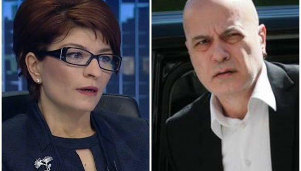 """Десислава Атанасова удари по партията на Слави: Правната комисия каза """"не"""" на мажоритарния вот и субсидията от 1 лв."""