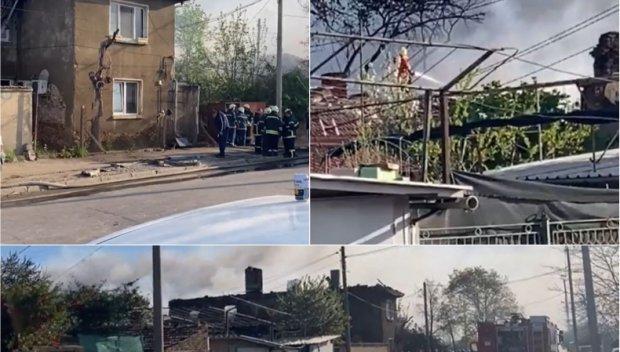 ПЪРВО В ПИК TV: Пожар в София - ето какво гори (ВИДЕО/СНИМКИ/ОБНОВЕНА)