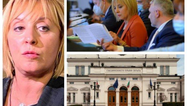 ПЪРВО В ПИК! Парламентът се гърчи в тотален хаос - БСП напира за пенсиите, Мая Манолова атакува Борисов с компромати, юристката на Слави вдигна ръце (НА ЖИВО)
