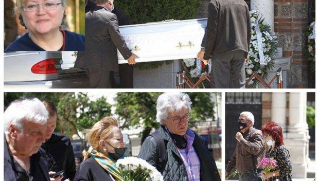 ПОСЛЕДНО СБОГОМ: Изпратиха Ваня Костова в бял ковчег (СНИМКИ)