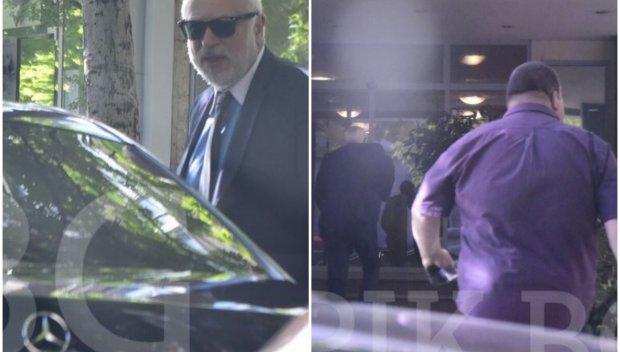 КОГО ЛЪЖЕ?! Минеков с държавен мерцедес и мощен охранител, вместо на метрото (ПАПАРАШКИ СНИМКИ)