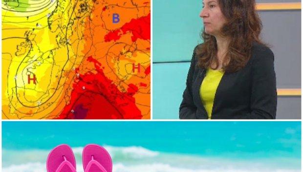 ТОП СИНОПТИК: Анастасия Стойчева: Лятото идва - чакат ни до 35 градуса