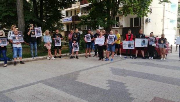 В Пловдив протестираха с искане за справедлив процес след смъртта на две момчета в катастрофа