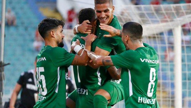 Лудогорец се класира за третия квалификационен кръг на Шампионска лига