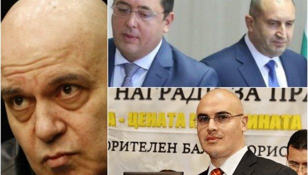 Две масонски ложи, близки до Пеевски, и човекът с пликчето на Румен Радев издигат премиера на Слави Трифонов