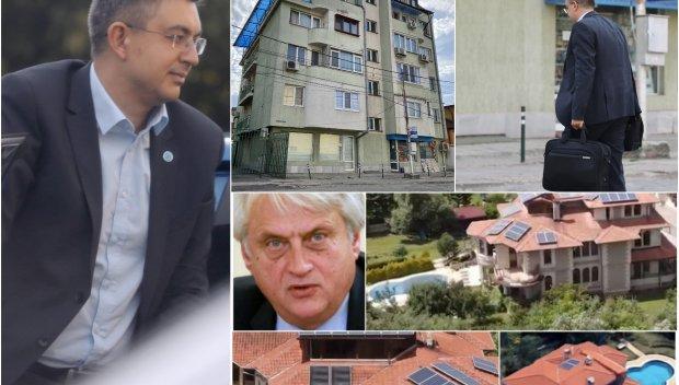 САМО В ПИК: Премиерът на Слави живее скромно на 80 кв. м. в Орландовци, на ул. Железопътна. Ето го със семейството му! Вижте и контраста с лукса на Рашков (ПАПАРАШКИ СНИМКИ)