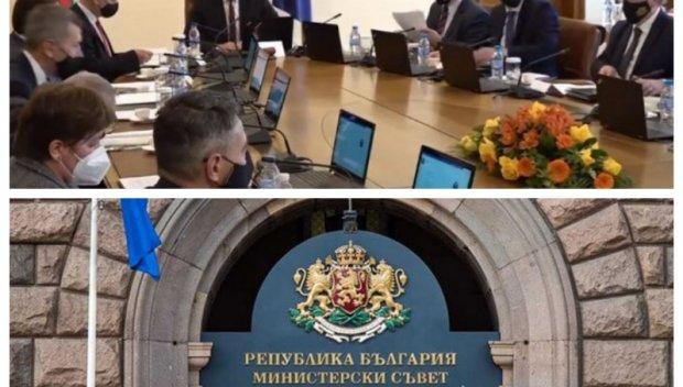 ИЗВЪНРЕДНО В ПИК TV! Министрите на Румен Радев пак заседават - решават на кого да поверят подготовката на изборите (ВИДЕО/ОБНОВЕНА)
