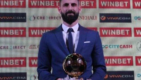 Димитър Илиев е футболист №1 на България за втора поредна година