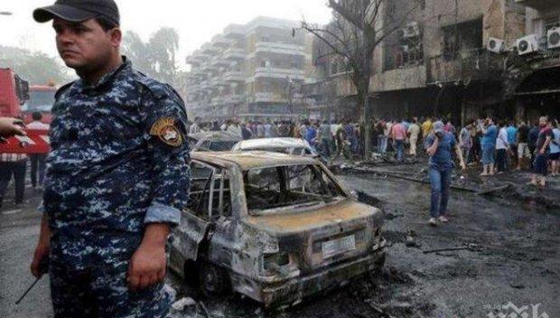 Двоен самоубийствен атентат окървави Багдад, десетки са загинали