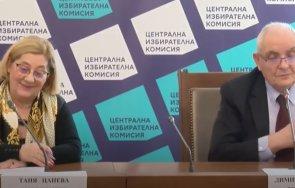 цик партии коалиции регистрирани вота формации отказано