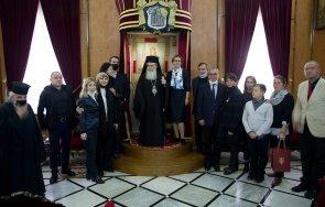 предстоятелят православната ерусалимска патриаршия благослови българия случай националния празник снимки