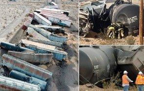товарен влак преобърна калифорния видео снимки