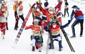 норвегия ликува йохауг фурор